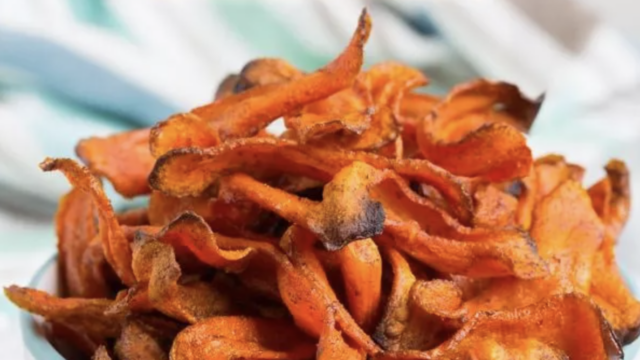 Healthy-Baked-Carrot-Chips